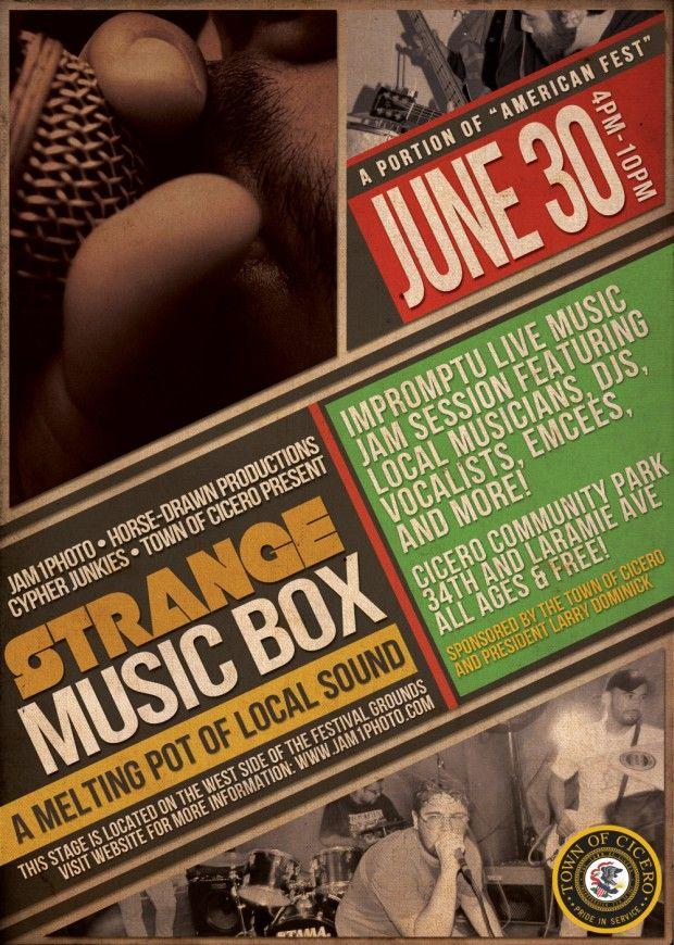"""STRANGE MUSIC BOX"" stage @ AMERICAN FEST [EVENT] 6/30/13"
