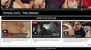 Hip-Hop.com featured some of my video work!