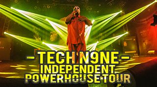 [SHOW RECAP] TECH N9NE's Independent Powerhouse Tour